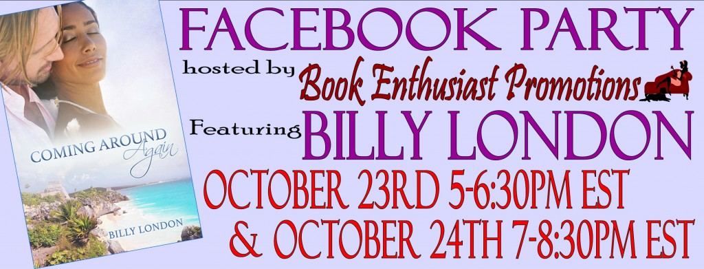 Billy London facebook party.2