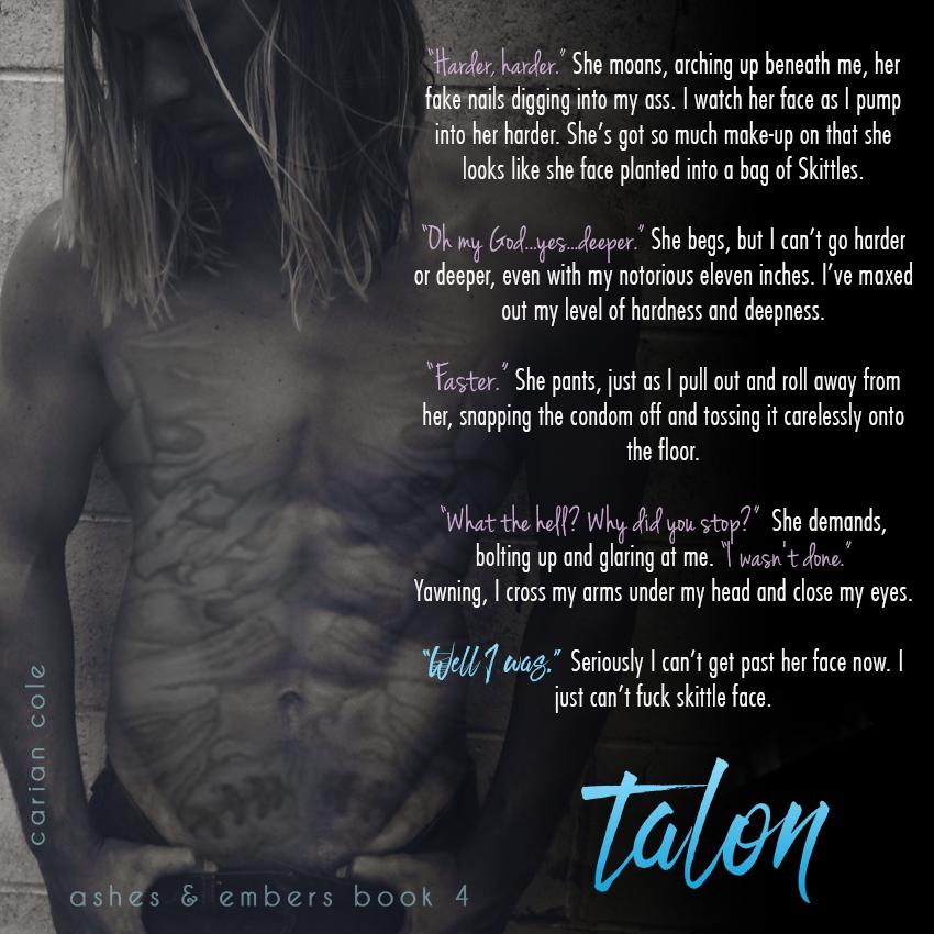 Talon by Carian Cole teaser