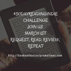 30DayReadingIndie is coming! Starts March 1st Readers pick from bookshellip